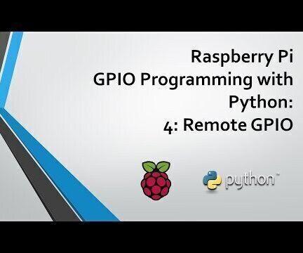 Raspberry Pi Remote GPIO