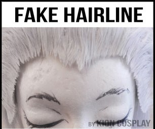 Gluing a Fake Hairline for Your Wigs