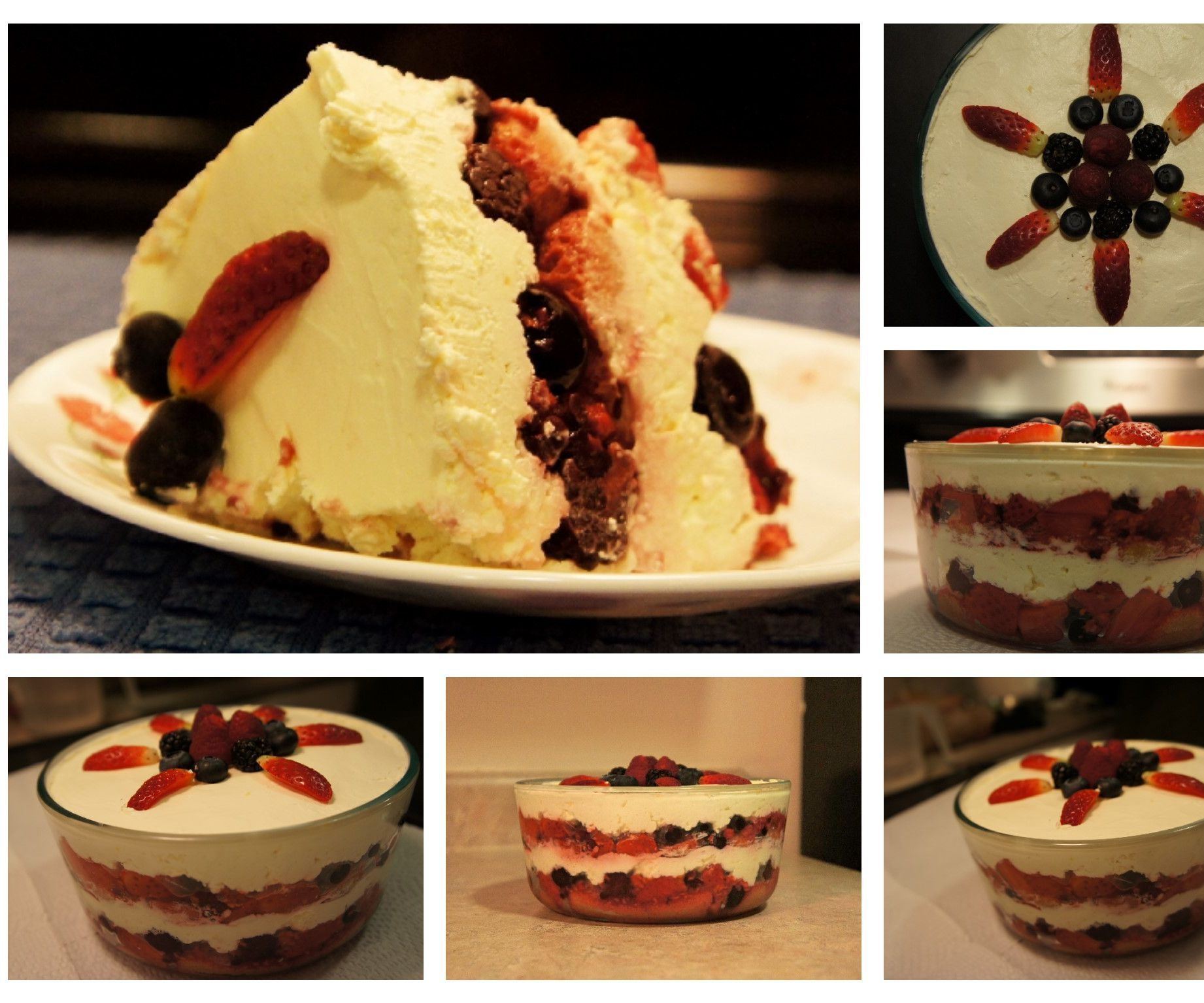 Simple Mixed Berry Tiramisu