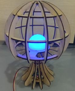 Jellyfish-like Lamp