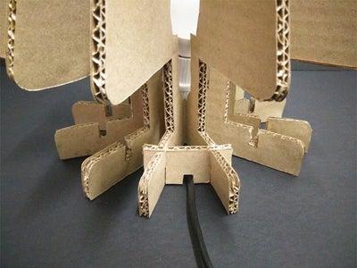 Attach the Lamp Cord