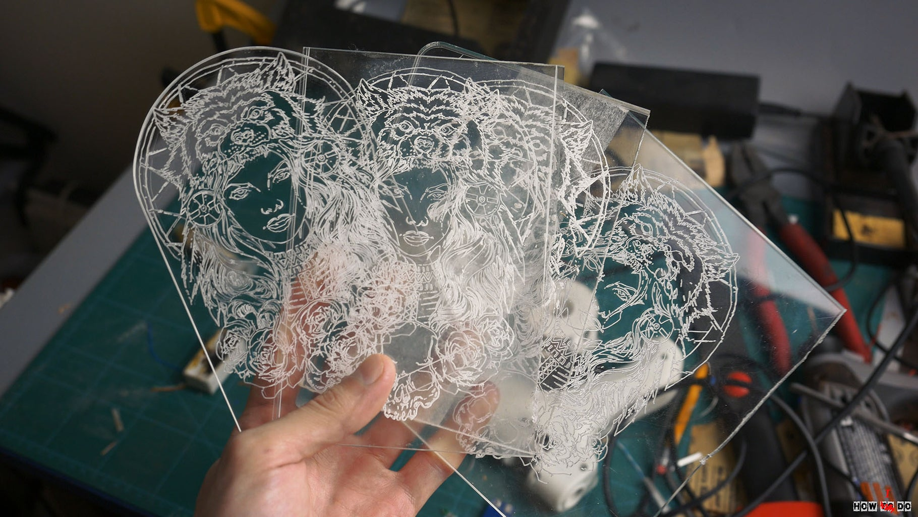 Engraving Acrylic