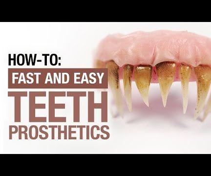 How To: Prosthetic Teeth - SFX Makeup Tutorial