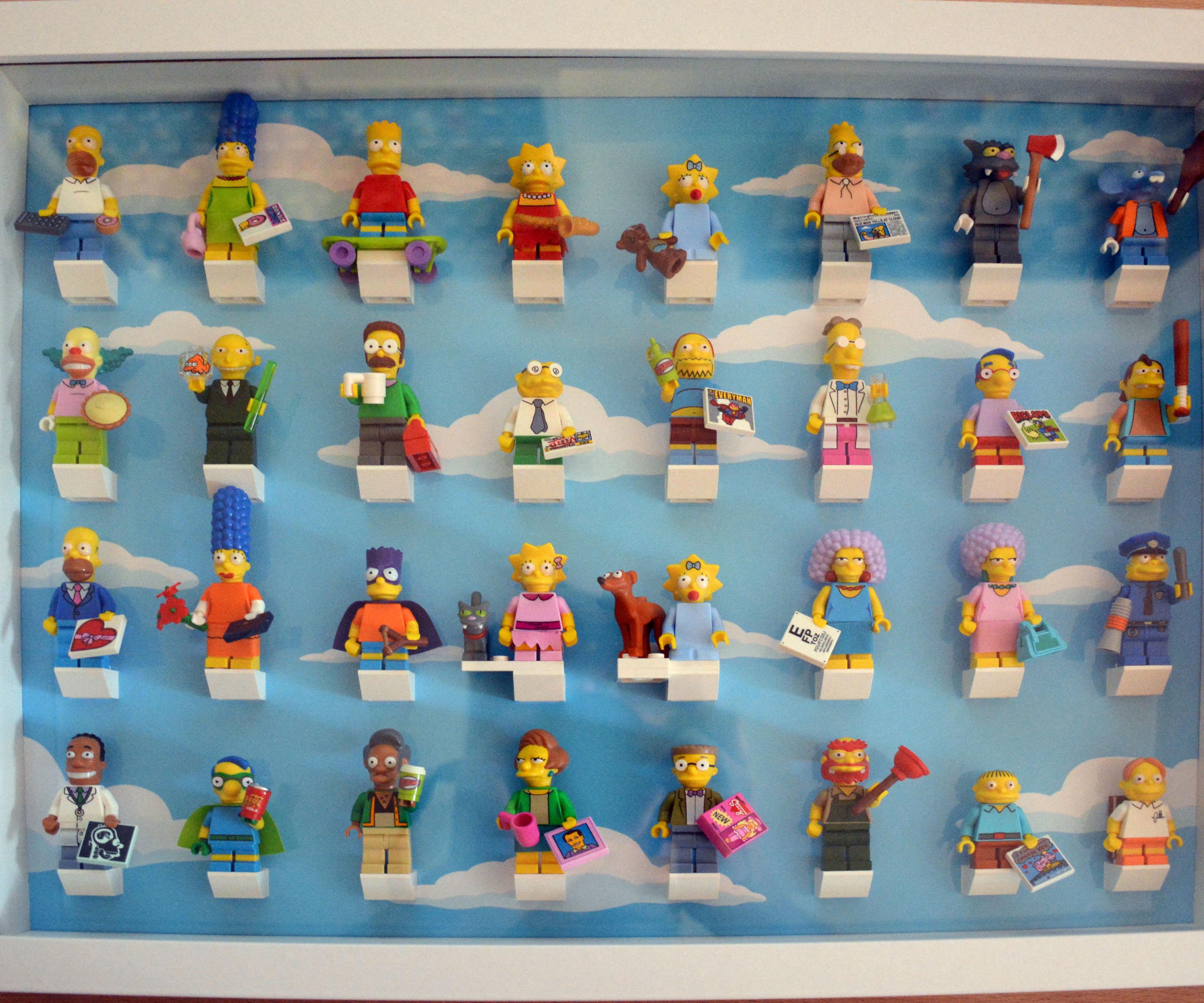 Store your LEGO Minifigures (Simpson Version)