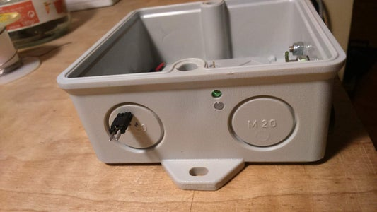 Adding the ON/OFF Switch and the Status LED