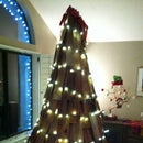 Christmas Trees From Salvaged Materials