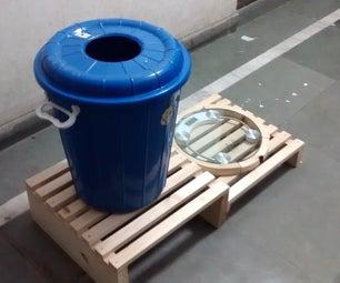 Dustbin - Weighing Machine