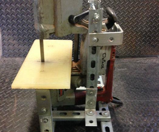Portable Metal Bandsaw Stand