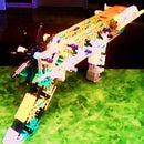 RS-5 Rubber Band K'nex Gun