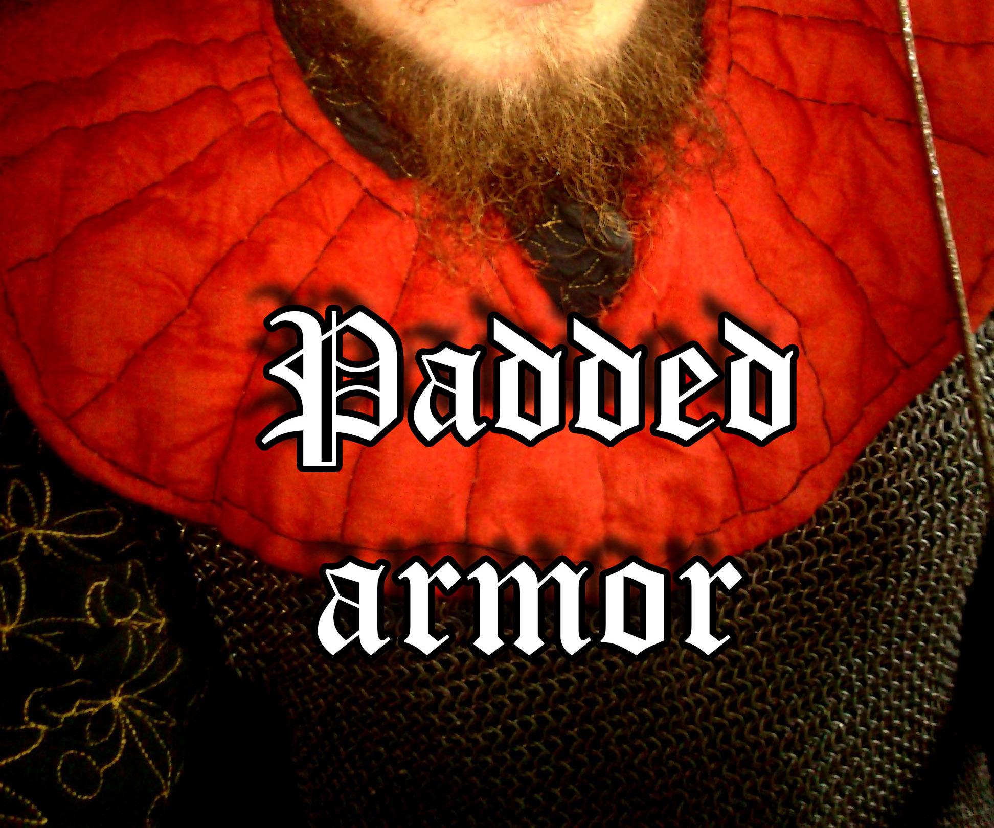 Padded collar armor