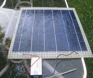Lightweight Solar Panel (12V Battery Charger)