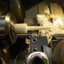 Turning tapers on the lathe for ear gauges