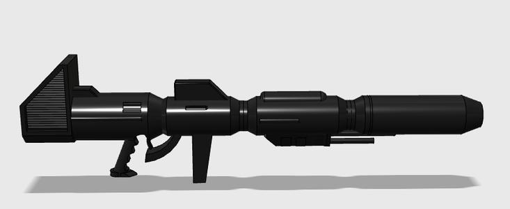 3D Printing Optimus Primes Laser Rifle