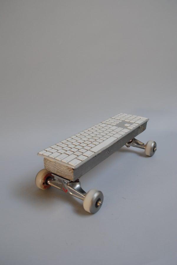 Keyboard Skateboard