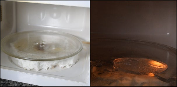 Why Did We Blow-torch It, Sanded the Popcorn and Did Not Brush Water-glass Between the Fiber Blankets?