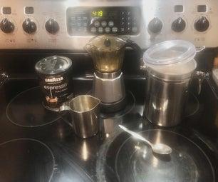 如何制作古巴咖啡/浓咖啡