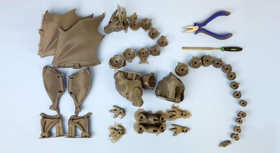 Print Dragon Pieces