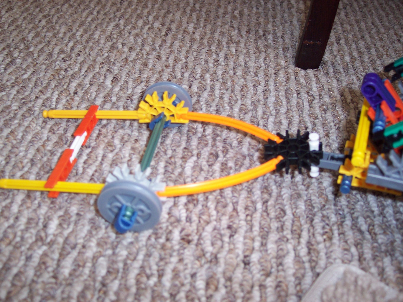 How to Make a Knex Trailer and Hitch for a Knex Mini Suspension Truck