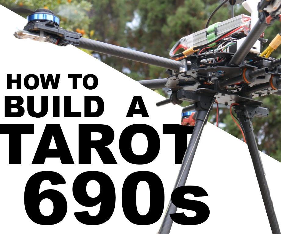 Building a Monster Tarot 690s Hexacopter!