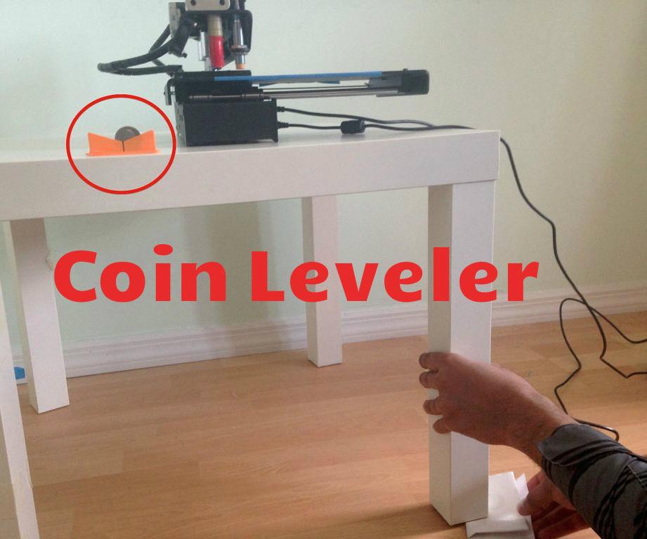 DIY Coin Leveler
