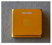 Personalize Your IPod Shuffle Using Laser Engraving