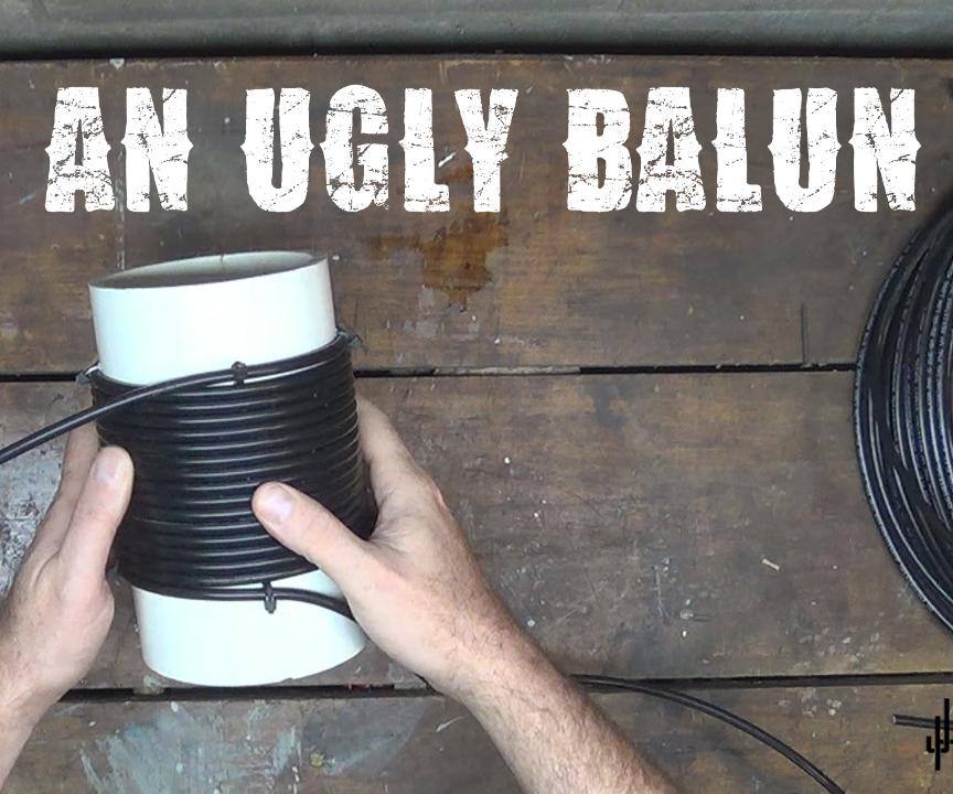 Air Choke (Ugly Balun) for Ham Radio