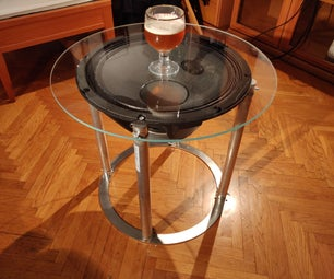 18'' Speaker Table