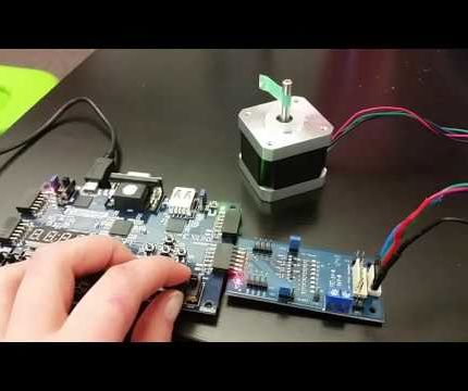 How to Control a Stepper Motor With an FPGA