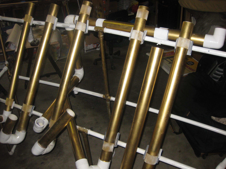 PVC instrument, portable pentatonic