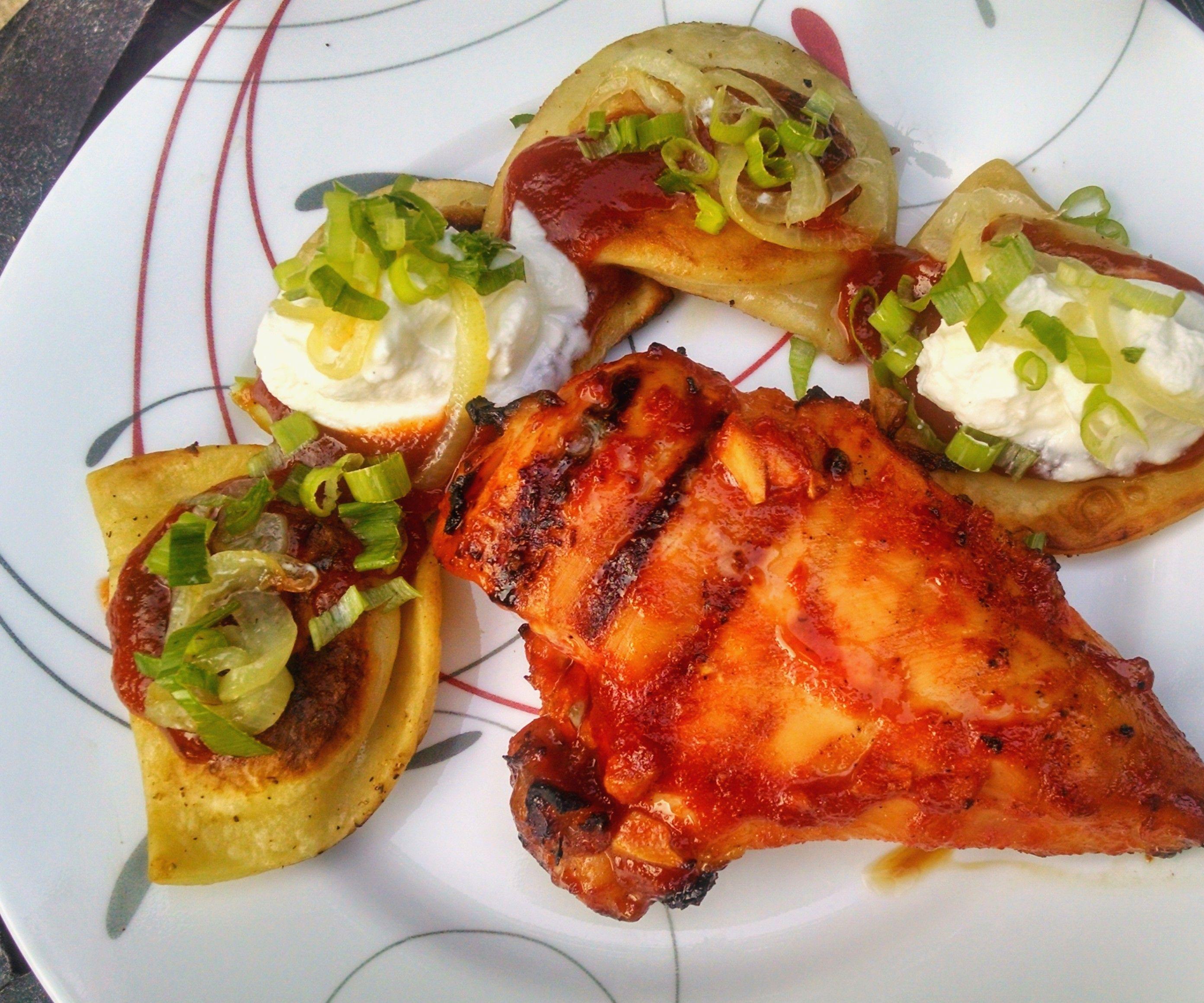 Messy's Grilled BBQ Chicken