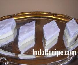 Taro Cake Slices
