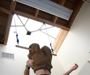 Install a Hanging Bar/Trapeze at Your Office