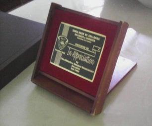 A Unique Display & Award Box