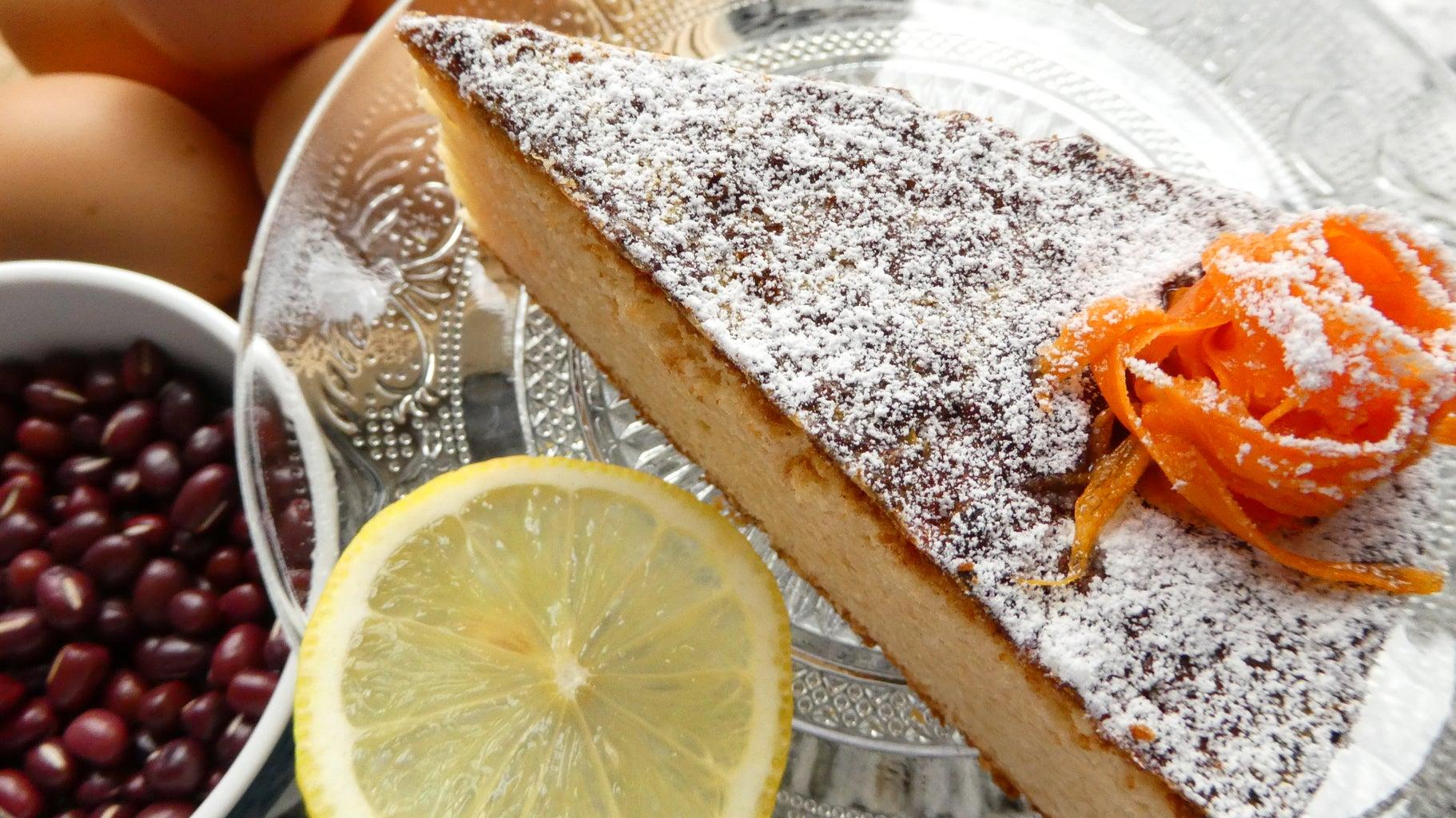 Fake Almond Cake