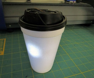To-Go Cup Lantern - DIY Interrupted Circuit Light