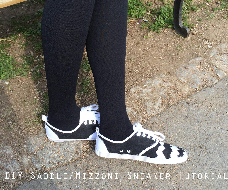 DIY Saddle/Mizzoni Sneaker Tutorial
