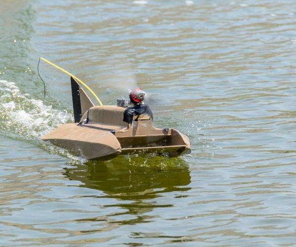 Airscrew Driven RC Boat