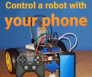 Arduino汽车 - 蓝牙控制