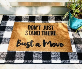How to Make a Custom Doormat