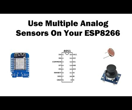 How to Use Multiple Analog Sensors on Your ESP8266