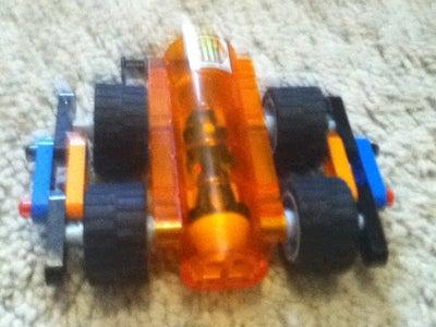 Mars Mission Mini Alien Mech Car