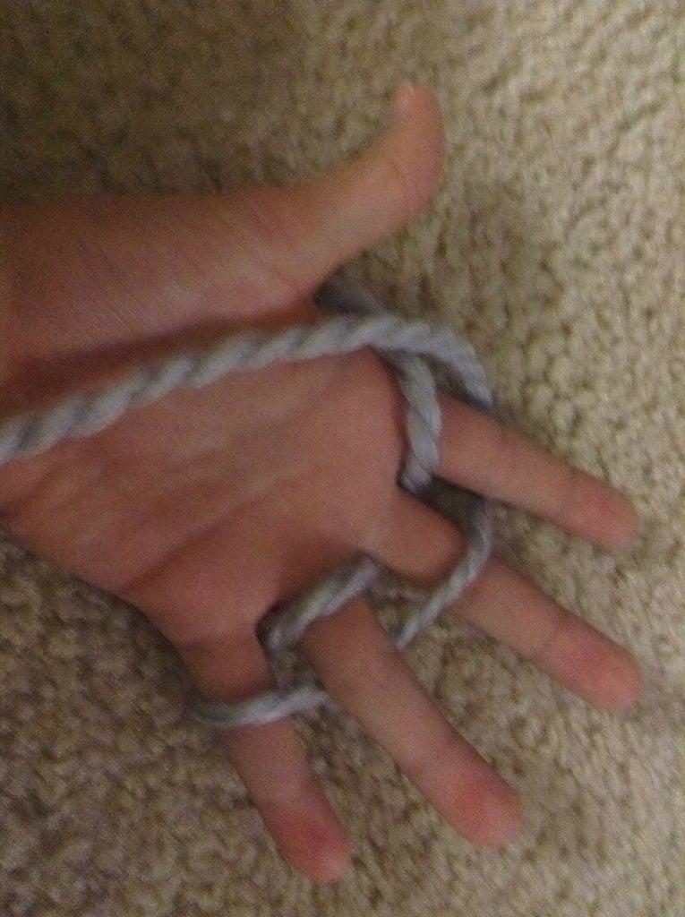 Begin Wrapping the Yarn