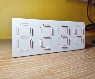 Complete Mechanical 7 Segment Display