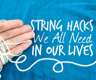 19 Unexpected Life Hacks Using String
