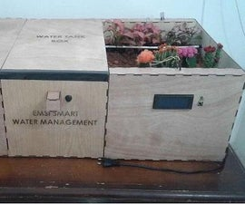 Making a Water Management System Controlled by Arduino Within a Wooden Model