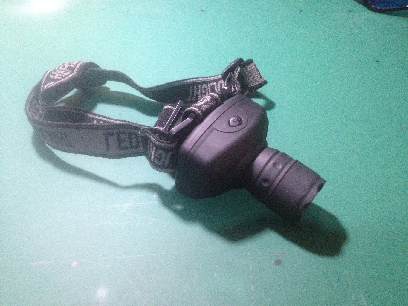 Reassembling the Head Torch