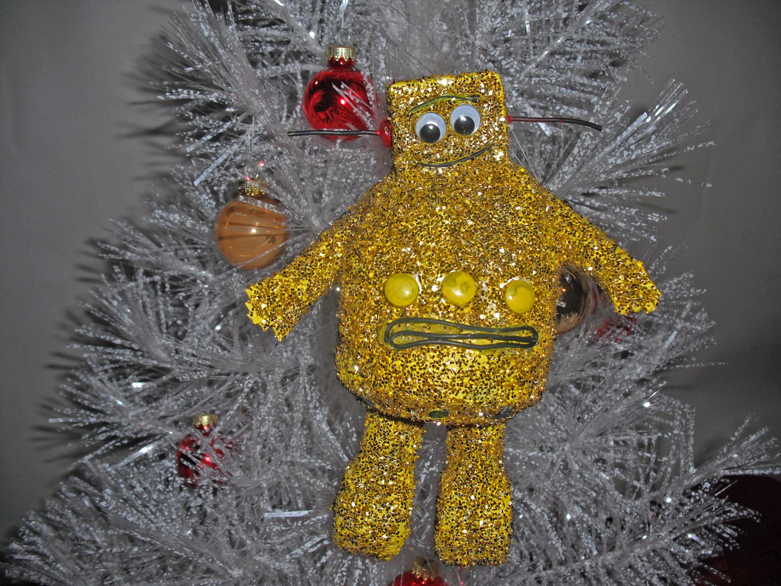 Robot Christmas Ornament