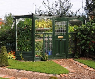 How to Build a Beautiful Boutique Greenhouse Cheaply From Reclaimed Materials