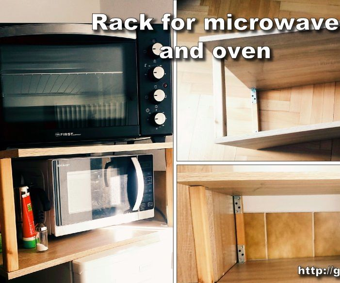 Rack for Microwave and Oven