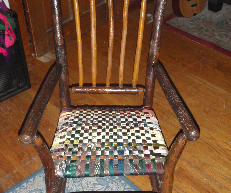 Heirloom Necktie Chair